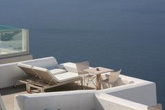 Aegean lounge Stock Photos