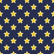 Texture with Stars Stock Illustration