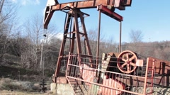 Drilling rig 06 Stock Footage