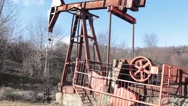 Stock Video Footage of Drilling rig 06