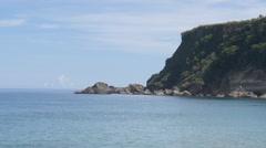 Borinquen Beach Aguadilla Puerto Rico Stock Footage