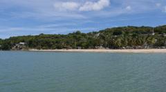Crash Boat Beach Aguadilla Puerto Rico 2 Stock Footage