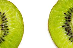 slices of kiwi fruit - stock photo