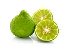Bergamot isolated - stock photo