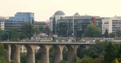 Luxembourg, officially the Grand Duchy of Luxembourg Stock Footage