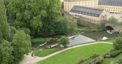 Luxembourg landscape Stock Footage