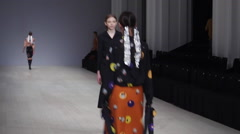 Ukrainian Fashion week 26 Stock Footage