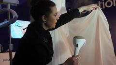 Ukrainian Fashion week Stock Footage
