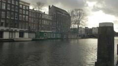 Amsterdam 4K sunset_7 Stock Footage