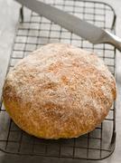 Rustic artisan bread Stock Photos
