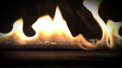 Slow Motion Fire and Flames Stock Footage