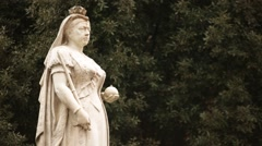Queen Victoria 2 Stock Footage