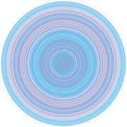 Crisp Line Circles Stock Illustration