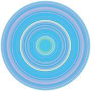Crisp Line Circles - stock illustration