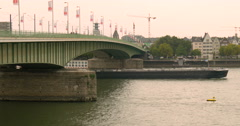 COLOGNE (KOLN), GERMANY: Cologne is Germany's fourth-largest city Stock Footage