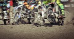 motocross in Bali - stock photo