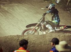 Motocross in Bali Stock Photos