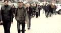Crowd of people on the street , 4k Footage