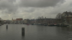 Amsterdam 4K canal Stock Footage