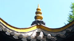 Incorruption Well, Lord Bao Temple, Hafei, China Stock Footage