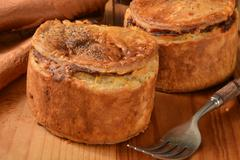 Stock Photo of Steak and ale pies