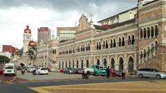 Kuala Lumpur Merdeka square time lapse Stock Footage