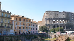 Ludus Magnus. Rome, Italy. 4K Stock Footage