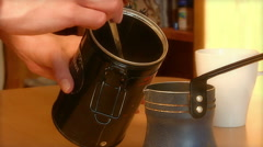 Coffee Making Stock Footage