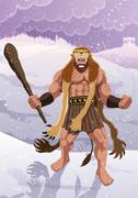 Heracles Stock Illustration