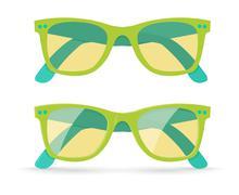 Vector illustration of sunglasses Stock Illustration