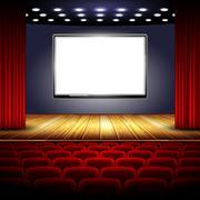 Cinema Stock Illustration