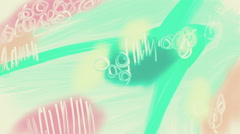 Hand drawn animation abstract background. Stock Footage