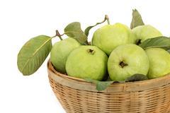Guava (tropical fruit) Stock Photos