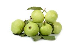 Group of guava fruit,tropical fruit - stock photo