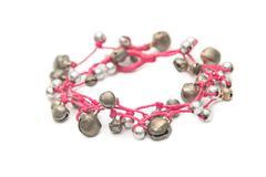 Handcraft beautiful bracelet Stock Photos