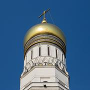 Ivan the Great bell tower, Kremlin, Moscow, Russia - stock photo