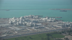 Abu Dhabi, new Presidential Palace, partially under construction Arkistovideo