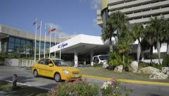 Melia Habana Hotel - Miramar, Havana Cuba Stock Footage