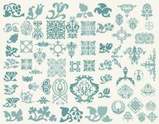 Stock Illustration of Design elements