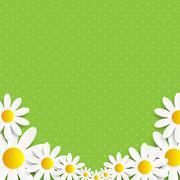 Stock Illustration of Flora Daisyl Design Vector Illustartion