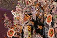 Goddess durga statue Stock Photos