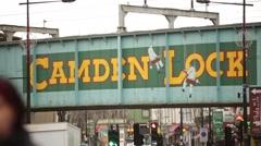Camden lock Stock Footage