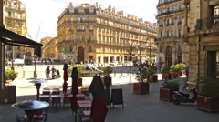 City Square in MARSEILLE, FRANCE Stock Footage
