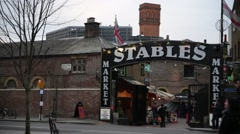 Camden Stables Market (London) - stock footage