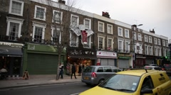 Camden town shops Stock Footage