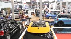 Belgrade Car Show - stock footage