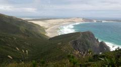 Cape Reinga New Zealand Stock Footage