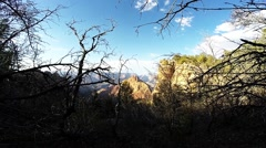 Grand Canyon Hike POV Stock Footage