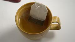 Tea time. 4K UHD Stock Footage