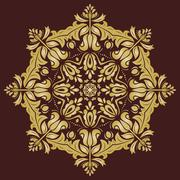 Orient  Pattern. Abstract Ornament Stock Illustration